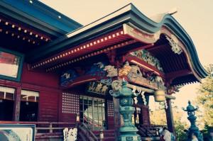 武蔵御嶽神社 幣殿・拝殿