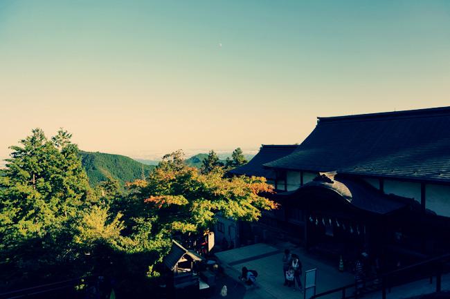 武蔵御嶽神社から