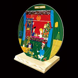 『アート オブ クリスマス Namiki 2009』 オリジナルイヤーズプレート / 北野武(ビートたけし)