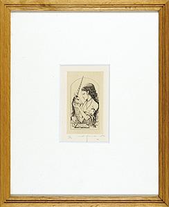 一角獣と女 / 山本六三