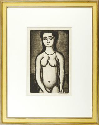 ユビュおやじの再生 裸婦 / ジョルジュ・ルオー