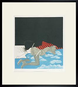 空の寝台 / 池田満寿夫