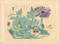 花と蝶(仮題) / 亀井藤兵衛