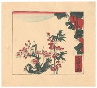 紅梅図 / 河野通勢
