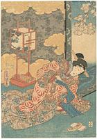 美人図 / 豊国三代