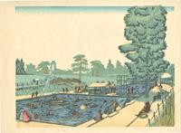 大東京十二景の内 八月 豊島園の夏 / 藤森静雄