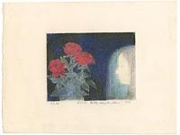 花と少女 / 依岡慶樹