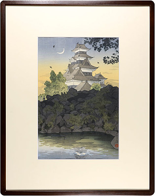 信州松本城 / 笠松紫浪