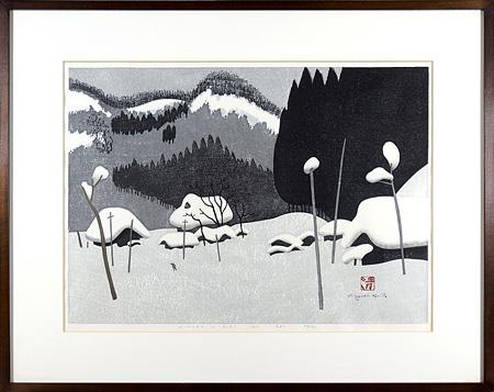 会津の冬(41) / 斎藤清