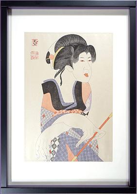 『桜姫東文章』より五世坂東玉三郎の風鈴お姫 / 弦屋光溪