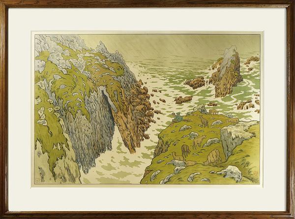 『自然の様相』 断崖 / アンリ・リヴィエール