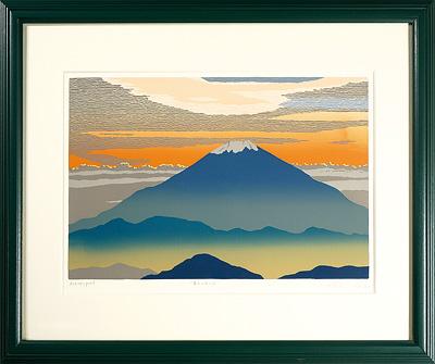 富士山の日の出 / 田中正秋