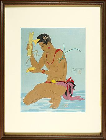 檳椰の実、ヤップ島 / ポール・ジャクレー