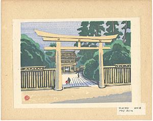 東京回顧図会 明治神宮 / 山口源