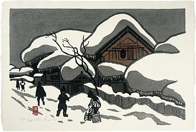 会津の冬(仮題) / 斎藤清