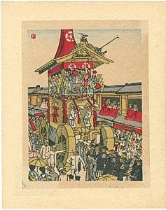 祇園祭 / 前川千帆