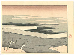 筑紫五景 火の海 / 坂本繁二郎