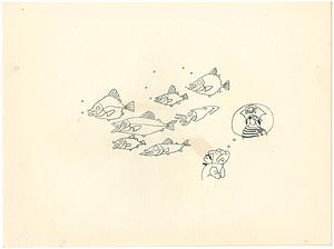 自筆画稿 / おおば比呂司