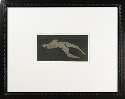 小さな裸婦 '84-(3) / 加山又造