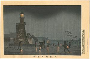 九段坂五月夜 【復刻版】 / 清親