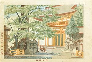 奈良名勝の内 春日神社 / 浅野竹二