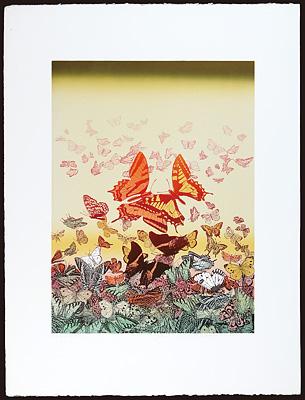 真昼の蝶たち / 吉田千鶴子