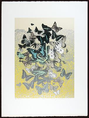 園の蝶たち / 吉田千鶴子