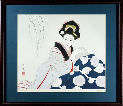 日本の女 こたつ / 志村立美