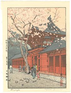 昼の東京 日枝神社 / 吉田遠志