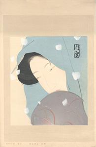 鷺娘(梅川) / 北野恒富