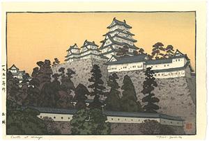 お城 ※姫路城 / 吉田遠志