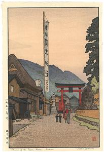 岡太神社 / 吉田遠志