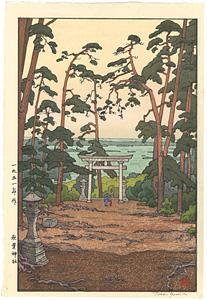 秋葉神社 / 吉田遠志