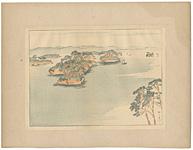 日本風景版画 第三集 東北之部 松島 / 平福百穂
