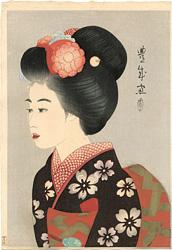 舞妓 / 山村耕花(豊成)