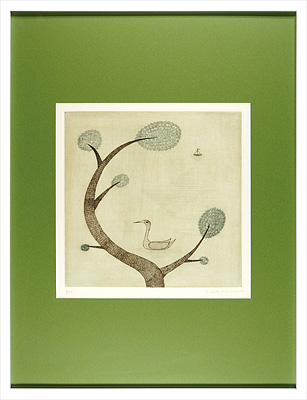 木と鳥と舟 / 南桂子