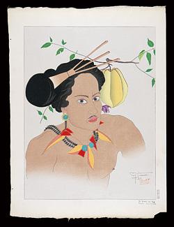ヤップの男 西カロリン諸島(果物の組の内) / ポール・ジャクレー