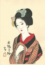 木場の娘 / 竹久夢二