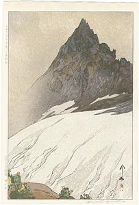 日本アルプス十二題 槍ヶ岳 / 吉田博