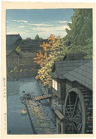 栃木県河西町 / 川瀬巴水