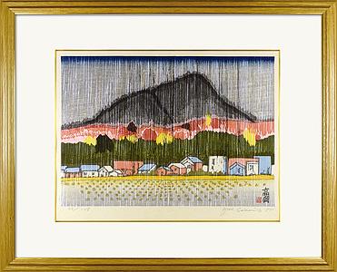奥の細道(51) 高岡(驟雨) / 関野凖一郎