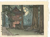 瀧尾神社 / 吉田博