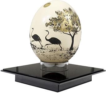 駝鳥の卵 / 福井江太郎