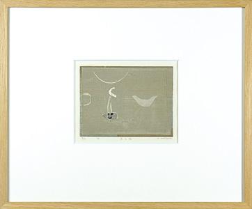 冬の池 / 柿崎兆