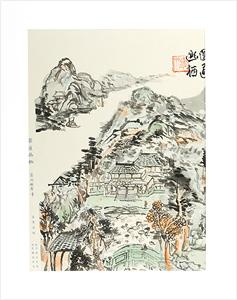 圓通幽栖 / 富岡鉄斎