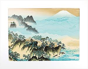蓬莱山 / 横山大観