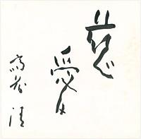 慈愛 / 斎藤清