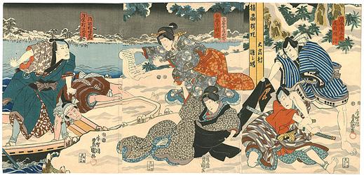 東山桜荘子 / 豊国三代