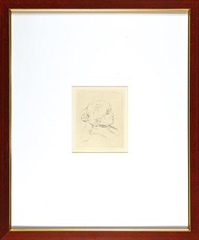 ベルト・モリゾの肖像 / ピエール=オーギュスト・ルノワール