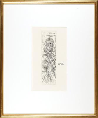 正面のアネット / アルベルト・ジャコメッティ
